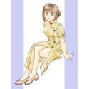 チャイナ服の女の子(その3)