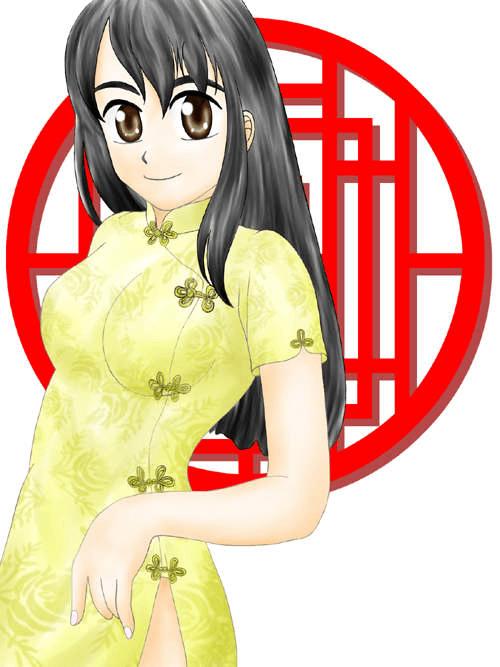 チャイナ服の女の子(その4)