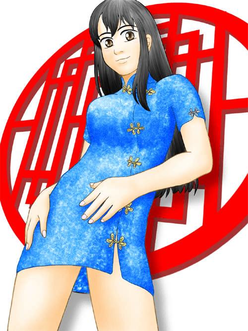 チャイナ服の女の子(その5)
