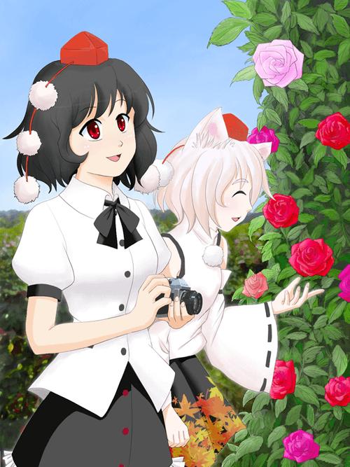 薔薇と天狗たち